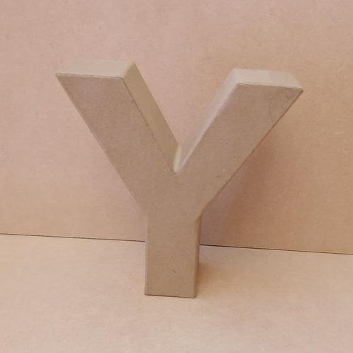 Y- Paper Mache