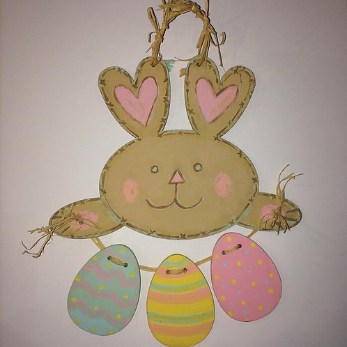 Easter Bunny and eggs set