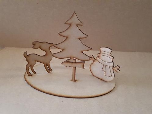 Fir tree Scene