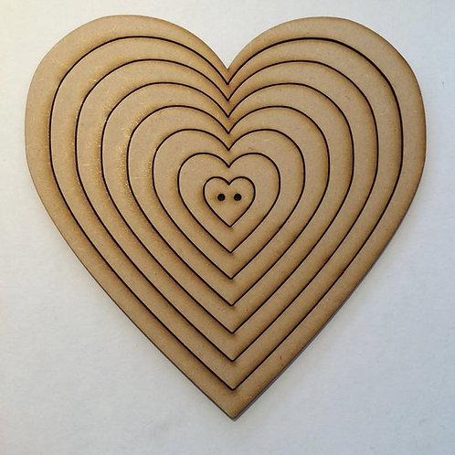 Stencil Packs: Heart