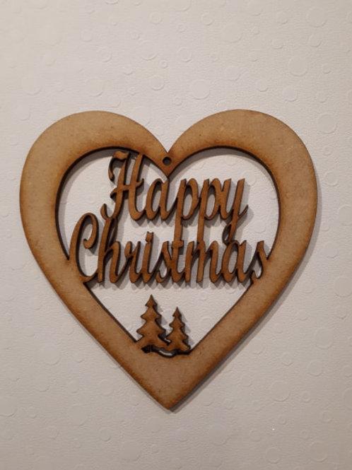 Happy Christmas Heart
