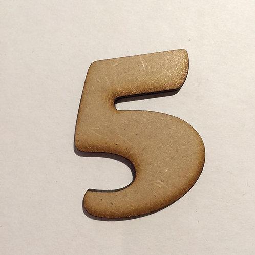 5 -Bold Font