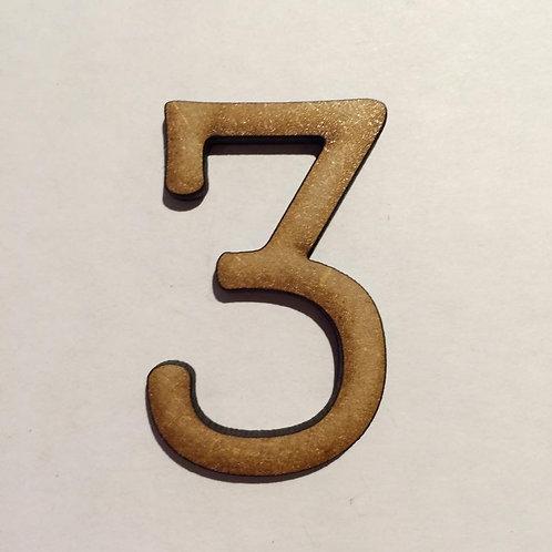 THIN FONT: 3