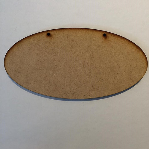Oval Plaque