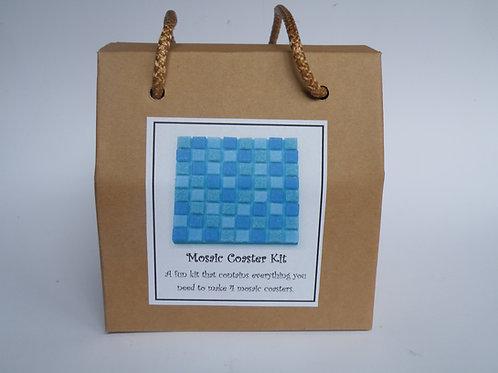 Mosaic Coaster Kit (Turquoise)