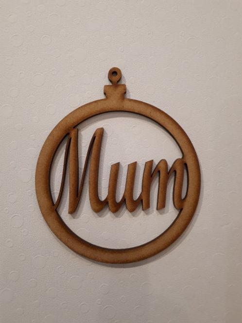 Mum Bauble