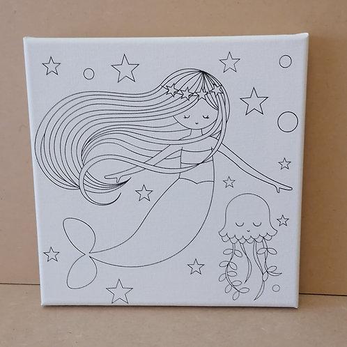 Mermaid canvas 2