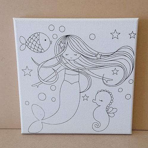 Mermaid canvas 1