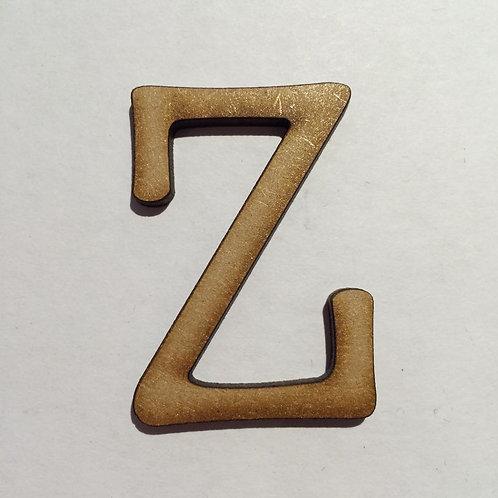 THIN FONT: Z