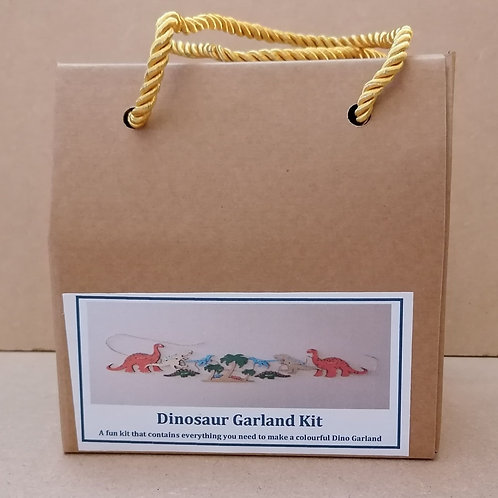 Dinosaur garland kit