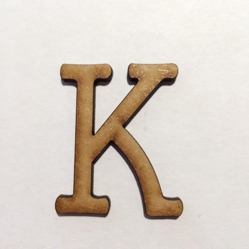 THIN FONT: K