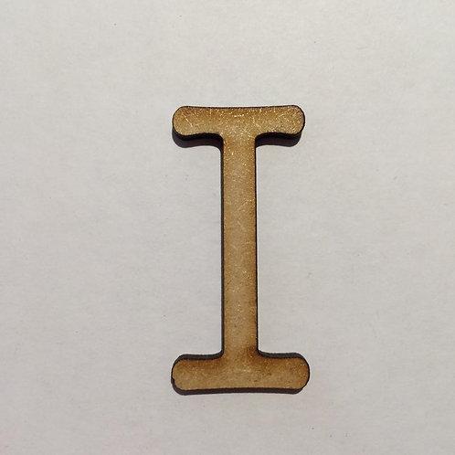 Thin Alphabet - 5cm I