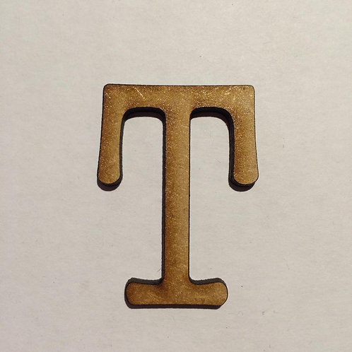 Thin Alphabet-5cm T