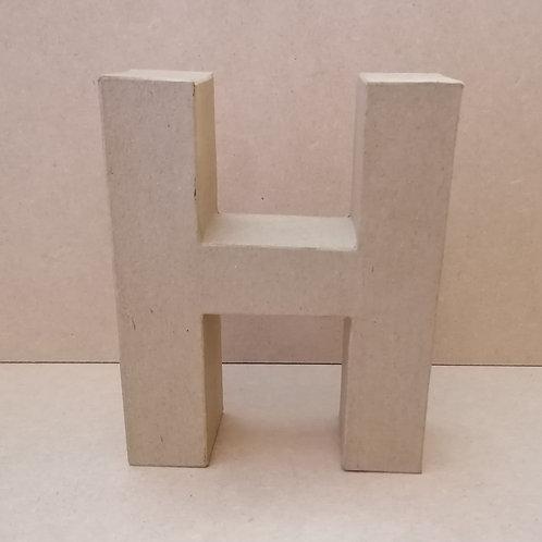 H- Paper Mache