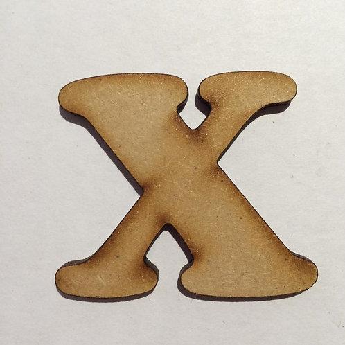 BOLD FONT: X