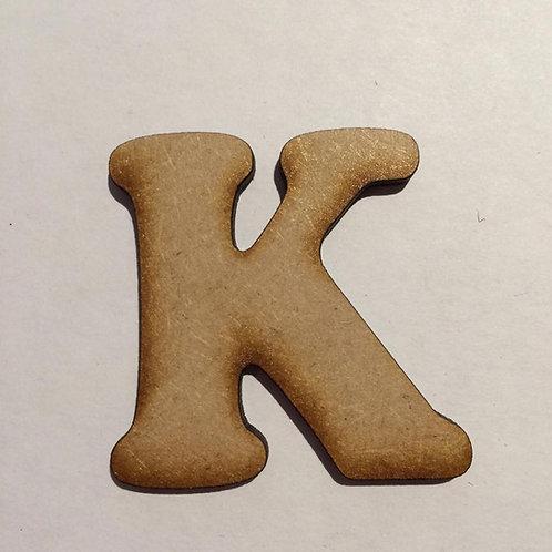 K -Bold Font