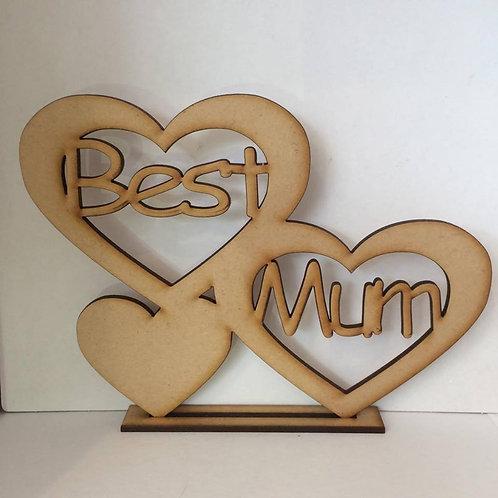 Standing Best Mum