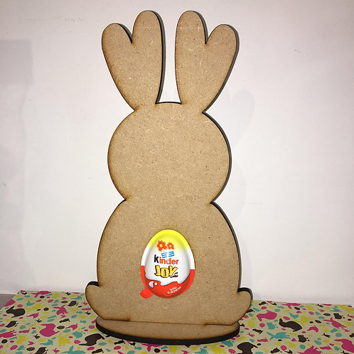 Bunny 2 with Kinder Egg cut out