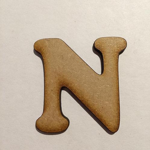 N -Bold Font