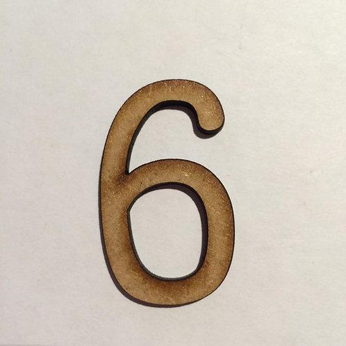THIN FONT: 6