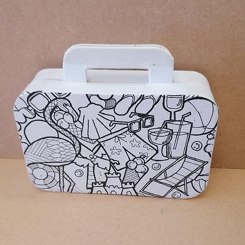 Doodle Suitcase