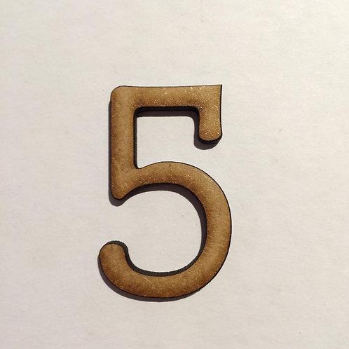 THIN FONT: 5