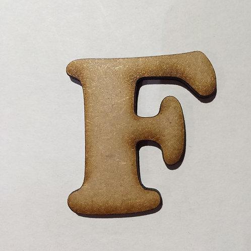 F -Bold Font