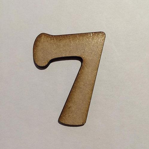 7 -Bold Font