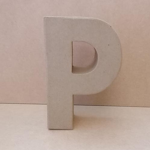 P- Paper Mache