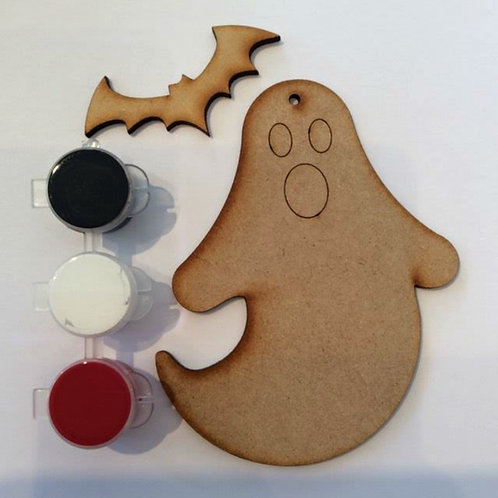 Ghost & Bat MDF Paint Pack