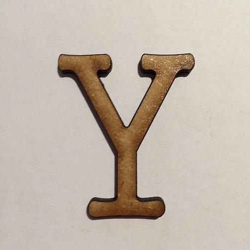 THIN FONT: Y