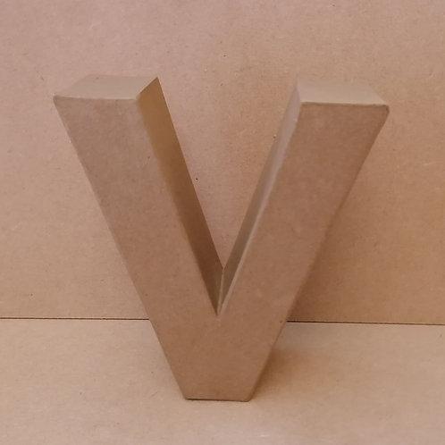 V- Paper Mache