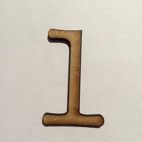 1 -Thin Font