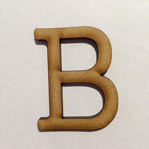 B -Thin Font