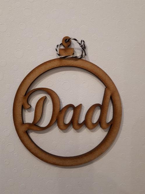 Dad Bauble