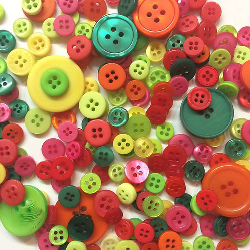 Colourful Mix Buttons