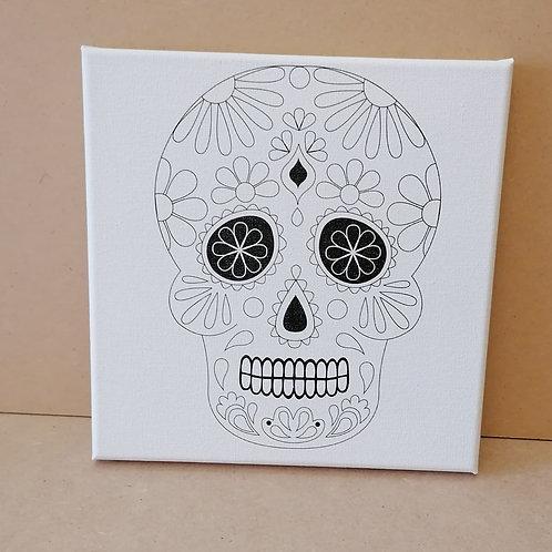 Skull canvas 2