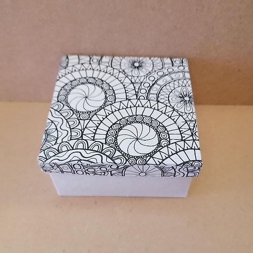Square doodle box