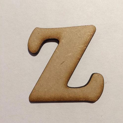 BOLD FONT: Z