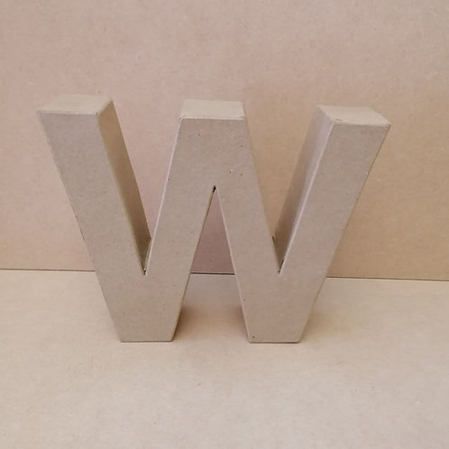 W- Paper Mache