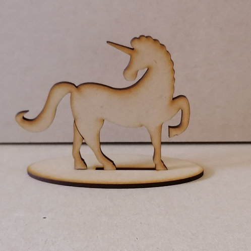 Unicorn on a stand