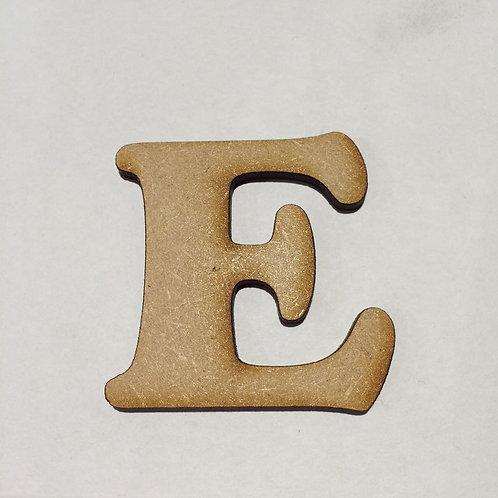 BOLD FONT: E