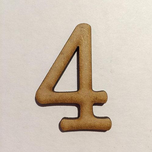 Thin Alphabet-5cm 4