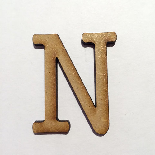 THIN FONT: N