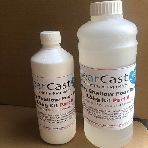 Epoxy Shallow Pour Resin -1.5kg