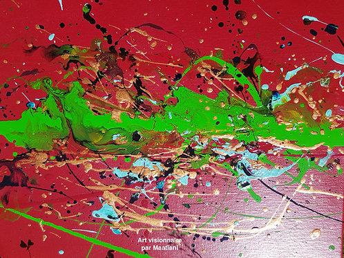 La terre en mouvement 30cms x 35cms Collection connection