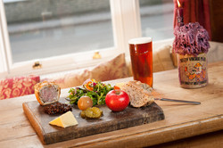Pork Pie Ploughmans