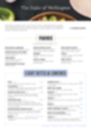 28266_Duke of wellington_luch menu 05-19
