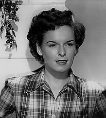 Mercedes McCambridge = 006 = plaid shirt