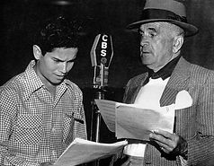 10 - ON RADIO with Al Jolson for charity
